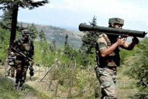 An Indian Army soldier was killed in firing by Pakistani troops in Kupwara district of Jammu and Kashmir.