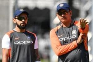 India captain Virat Kohli (left) decided to hand Hanuma Vihari a Test debut going into the fifth Test againstEngland at the Oval.