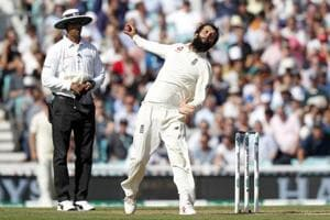 Moeen Ali has picked 11 wickets in two Test matches against India in the ongoing five-match series.
