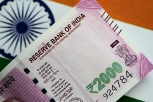 An India Rupee note is seen in this illustration photo June 1, 2017.