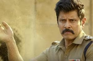 Saamy Square new trailer: Vikram reprises the role of Aarusaamy in the film.