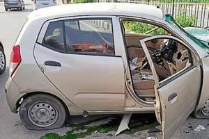 Eyewitnesses told police that the vehicle was speeding and dragged for at least 50 metres after hitting the divider.