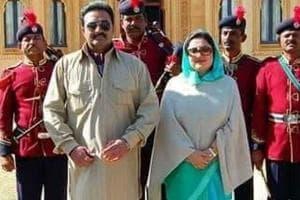 Raseshwari Rajya Lakshmi, wife of former Jaisalmer royal Maharawal Brijraj Singh, announced her entry into politics on Jaisalmer's 863rd foundation day on August 23.