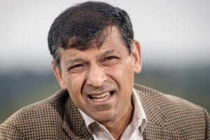 Raghuram Rajan, former governor of the Reserve Bank of India (RBI), speaks during an interview in Wyoming.