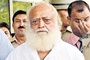 A Jodhpur court had sentenced Asaram to life in prison after finding him guilty of raping a teenage girl in his ashram five years ago.