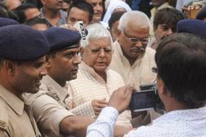 Ed filed a chargesheet against RJD chief Lalu Prasad, his wife Rabri Devi, son Tejashwi Prasad and others in a money laundering case related to the 2006 IRCTC hotels maintenance contract last month.