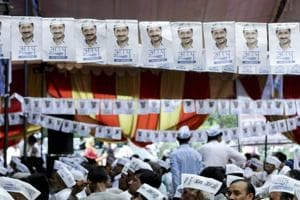 The Aam Aadmi Party (AAP) received a notice from the Election Commission which said the bank account of the party recorded total credits of Rs 67.67 crore, including Rs 64.44 crore from donations in excess of Rs 20,001.