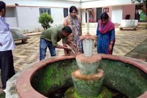 The health department team found dengue and chikungunya larvae at RIMS hospital premises in Ranchi on Monday.