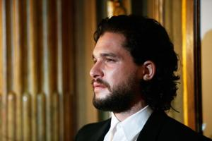Actor Kit Harington arrives for the world premiere of The Death and Life of John F. Donovan at the Toronto International Film Festival.