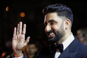 Actor Abhishek Bachchan arrives for the premiere of Husband Material at the Toronto International Film Festival in Toronto.