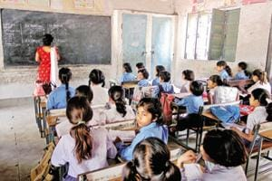 The recruitment exam for assistant teachers was conducted on May 27, 2018. The exam was held at 248 centres spread across 18 divisions of UP.  (Representational Photo)
