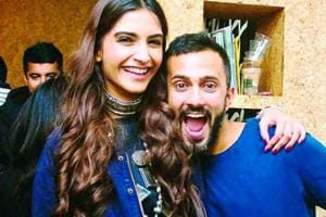 Sonam Kapoor shows her love for Anand Ahuja in an adorable Instagram post. (Instagram)