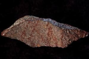 Scientists say this tiny 73,000-year-old sketch found in a South African cave is the oldest known drawing.