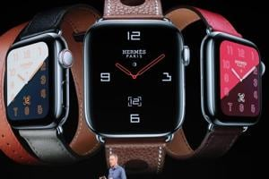 Apple Watch Series 4 starts at $399.