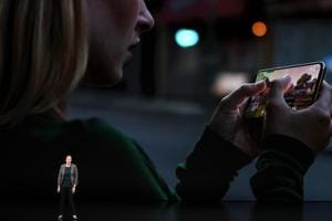 CUPERTINO, CALIFORNIA - SEPTEMBER 11: Kaiann Drance, Apples senior director, iPhone Worldwide Product Marketing speaks at an Apple event at the Steve Jobs Theater at Apple Park on September 12, 2018 in Cupertino, California.