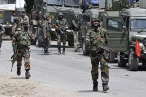 Two militants were killed in Sopore while two more were killed in Baramulla district.