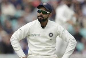File image of India skipper Virat Kohli in action in the recently-concluded series against England.
