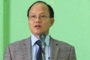 Mizoram home minister Lalzirliana was served show-cause notice by Congress over reports of his joining a rival party.
