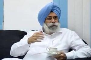 Aam Aadmi Party (AAP) MLA Harvinder Singh Phoolka.
