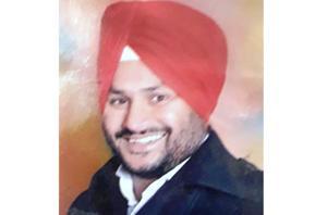 Sarpanch Satnam Singh.