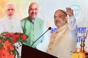 After his address to party workers in Jaipur on Tuesday, Amit Shah will now head towards the crucial Jodhpur and Udaipur divisions.
