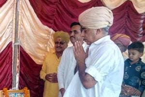 BJP MLA from Sheo assembly constituency in Barmer Manvendra Singh.