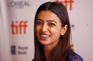 Actor Radhika Apte arrives for the world premiere of The Wedding Guest at the Toronto International Film Festival (TIFF) in Toronto.
