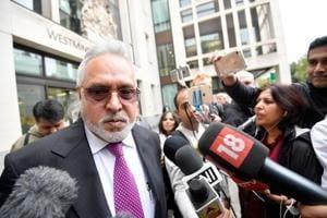 Vijay Mallya leaves Westminster Magistrates Court in London, Britain on September 12.