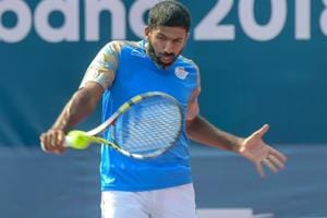 Rohan Bopanna and Saketh Myneni lost the do-or-die doubles rubber against Serbia.