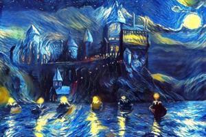 Harry Potter meets Van Gogh!