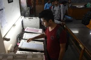 The Election Commission has asserted that EVMs for the DUSU polls were procured from Electronics Corporation of India Limited.