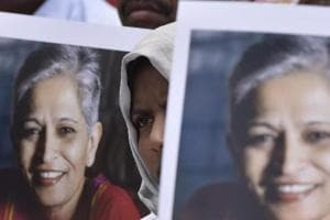 Kale, prime accused in the murder of journalist Gauri Lankesh ( in picture) has been in the custody of the Central Bureau of Investigation (CBI) in connection with the murder of Dr Narendra Dabholkar has been accused of supplying the weapon to Dabholkar's alleged assailant Sachin Andure.