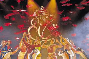 A dance performance at the inaugural function of Pune Festival on Friday.