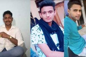 Rewari police has released pictures of the three gang rape accused. The main accused (left) is a soldier posted in Rajasthan, according to the police.