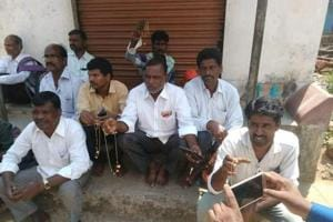 The husbands of the women who were asked to remove their mangalsutras raised a hue and cry outside the examination hall in Telangana.