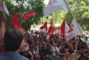 The united Left alliance had retained all four seats in the JNUSU elections last year also defeating the ABVP.