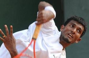 N Sriram Balaji lost to Pedja Krstin in straight sets as India ended the Davis World tie against Serbia without a single win.