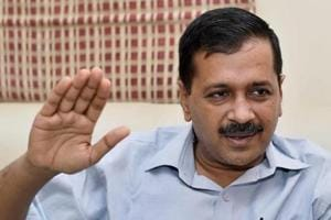 Delhi chief minister Arvind Kejriwal at an interview in New Delhi.