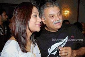 A file photo of Indrani Mukerjea and her husband Peter Mukerjea. Indrani was arrested on Tuesday by Mumbai Police for allegedly murdering her daughter Sheena and disposing of the body in Raigad in 2012.