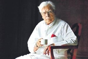 Former-external-affairs-minister-K-Natwar-Singh--has-penned-an--autobiography-One-Life-is-not-Enough-Raj-K-Raj-HT-photo