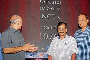 Delhi CM Arvind Kejriwal has alleged that some people are trying to block the call lines.