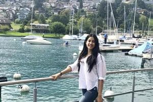 Janhvi Kapoor is spending some time relaxing by the Alps in Switzerland. (Instagram)