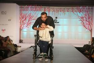 A fashion show by the differently abled, where wheelchairs set the ramp on fire