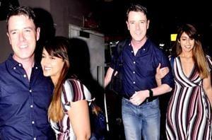 We just can't get enough of Ileana D'Cruz and boyfriend Andrew Kneebone's beautiful airport romance. (Instagram)