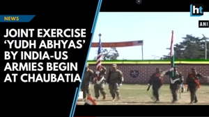 'Yudh Abhyas'- a joint exercise by India-US Armies begin in Uttarakhand