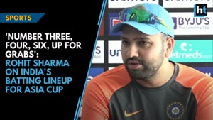 'Number three, four, six, up for grabs': Rohit Sharma on India's batting...