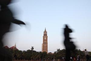 Rajabai Clock Tower at University of Mumbai, Churchgate.