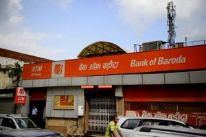 A Bank of Baroda branch in Connaught Circus Branch in New Delhi.