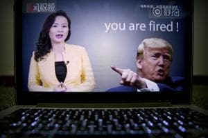 An online video about US-China trade tensions produced by China