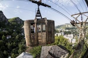 Photos: Georgia's cable car network is for the daredevil commuter